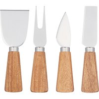 House by John Lewis Cheese Knives, Set of 4
