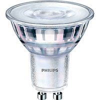 Philips 4.4W GU10 LED Cool White Bulb, Clear, Dimmable