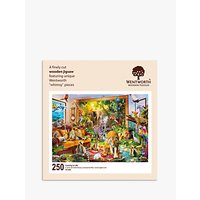 Wentworth Wooden Puzzles Coming To Life Jigsaw Puzzle, 250 Pieces