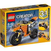 LEGO Creator 31059 3 in 1 Sunset Street Bike