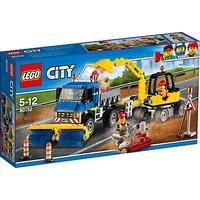 LEGO City 60152 Sweeper and Excavator