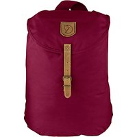 Fjallraven Greenland Small Backpack, Plum