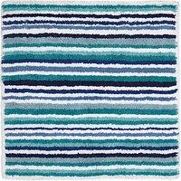 John Lewis & Partners Multi Stripe Shower Mat
