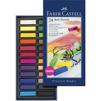 Faber-Castell Creative Studio Soft Pastels, Pack of 24