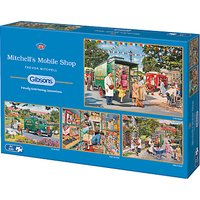 Gibsons Mitchells Mobile Shop Jigsaw Puzzle, 4 x 500 pieces