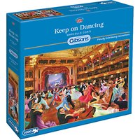 Gibsons Keep On Dancing Jigsaw Puzzle, 1000 Pieces