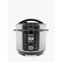Pressure King Pro 20-in-1 6L Digital Multi-Cooker, Black/Chrome