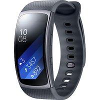 Samsung Gear Fit 2 GPS Sports Band, Dark Grey, Large