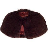 Chesca Faux Fur Luxury Shrug