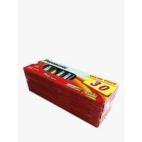 Panasonic Pro Power Alkaline AA Batteries, Pack of 30