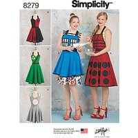 Simplicity Unisex Aprons from Lori Ann Costume Designs Sewing Pattern, 8279, A