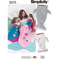 Simplicity Novelty Blankets Sewing Pattern, 8275, A