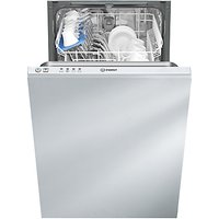 Indesit DISR14B1 Slimline Integrated Dishwasher