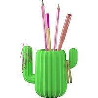Mustard Cactus Pencil Pot
