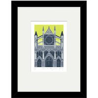 Jennie Ing - Westminster Abbey Limited Edition Framed Print, 34 x 44cm