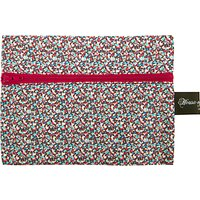 House of Alistair Small Pepper Print Haberdashery Bag, Red