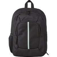 John Lewis Childrens School Backpack, Black