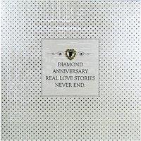 Five Dollar Shake Diamond Anniversary Greeting Card