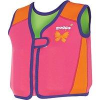 Zoggs Bobin Swim Jacket, Pink