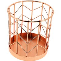 John Lewis Rose Gold Pen Pot