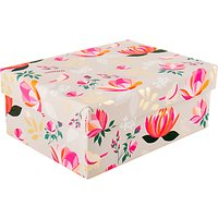 Sara Miller Floral Gift Box, Medium