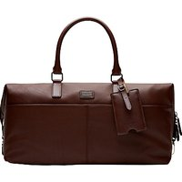 Ted Baker Tiger Leather Holdall, Tan