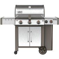 Weber Genesis II LX S-340 3-Burner Gas BBQ, Silver