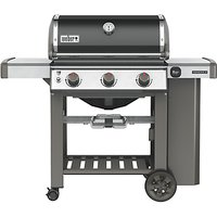 Weber® Genesis® II E-310™ 3 Burner Gas BBQ, Black