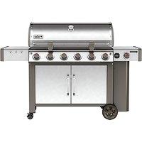 Weber Genesis II LX S-640 6-Burner Gas BBQ, Silver