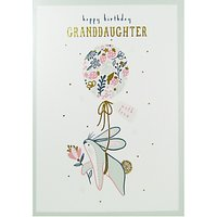 Art File Happy Birthday Granddaughter Greeting Card