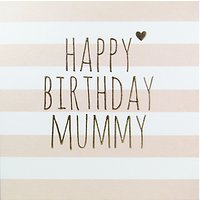 Belly Button Designs Happy Birthday Mummy Greeting Card