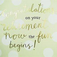 Caroline Gardner Retirement Greeting Card