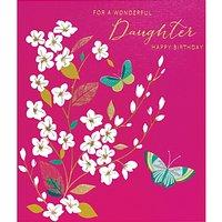Art File Wonderful Daughter Greeting Card