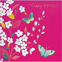 Sara Miller Birthday Butterflies Greeting Card