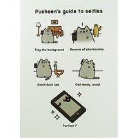 Pusheen Selfie Guide Greeting Card