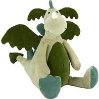 Jellycat Dylan Dragon Soft Toy, One Size, Green