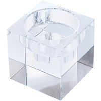 Dartington Crystal Combo Cube Candle Handler, Medium, Clear