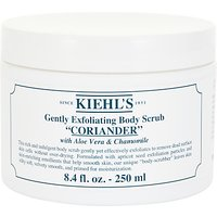 Kiehls Coriander Gently Exfoliating Body Scrub, 250ml