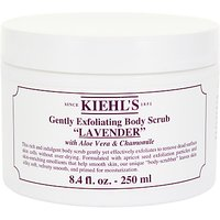 Kiehls Lavender Gently Exfoliating Body Scrub, 250ml