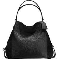 Coach Edie 42 Leather Shoulder Bag