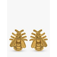 Alex Monroe Bee Stud Earrings, Gold