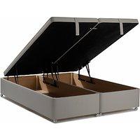 John Lewis Maxi Store Divan Storage Bed, Double, Canvas Steel