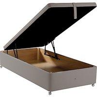 John Lewis Maxi Store Divan Storage Bed, Single, Canvas Steel