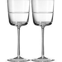 Vera Wang for Wedgwood Bande Wine Glass, Set of 2