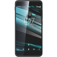 Vodafone Smart Platinum 7 Smartphone, Android, 5.5, Pay As You Go (£10 Top Up Included), 32GB, Black