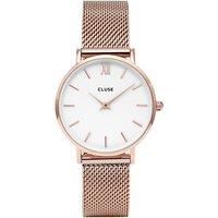 CLUSE Womens Minuit Mesh Bracelet Strap Watch