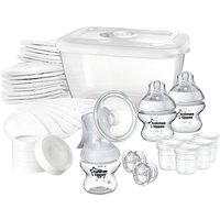 Tommee Tippee Closer To Nature Manual Breast Pump Feeding Kit