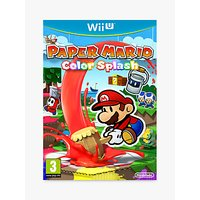 Paper Mario: Color Splash, Nintendo Wii U