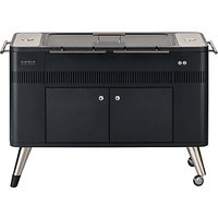 everdure by heston blumenthal HUB Electric Ignition Charcoal BBQ & Cover, Graphite