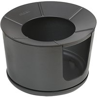 Mors ¸ Bucket Charcoal Firepit BBQ, Black
